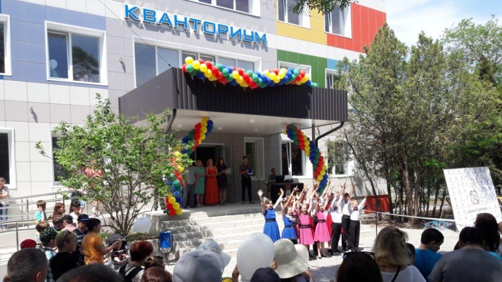 В детском технопарке «Кванториум» состоялся День открытых дверей