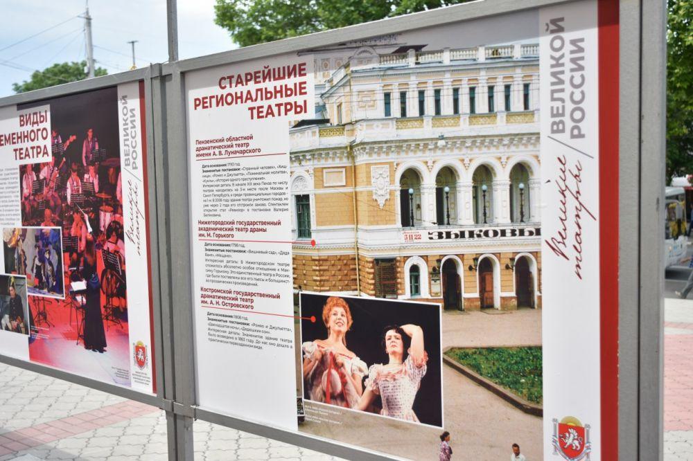 Фотовыставка в Симферополе объединила в себе максимально яркие театры России и Крыма, — Зырянов