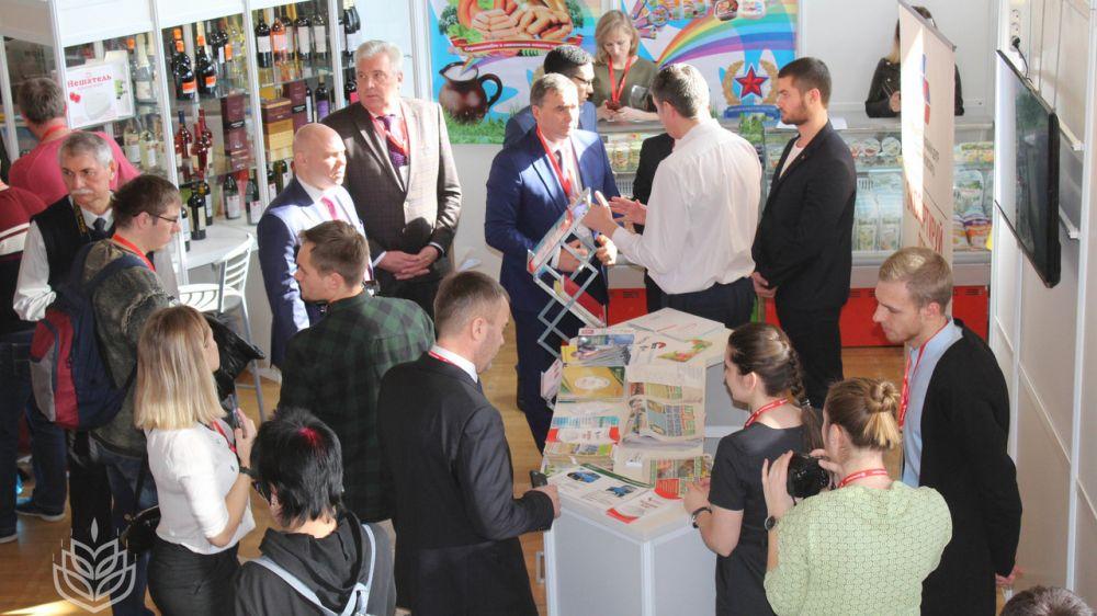 Минсельхоз Крыма презентует выставочный стенд на VI выставке российских производителей «РосЭкспоКрым. Конкурентоспособность»