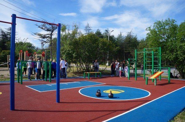 Школьные спортплощадки в Симферополе открыли для горожан: график работы