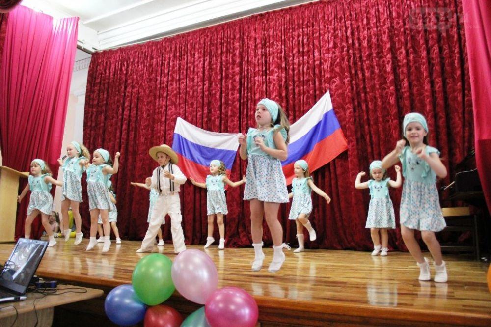 В гаспринском санатории «Родина» в честь Дня России прошел праздничный концерт