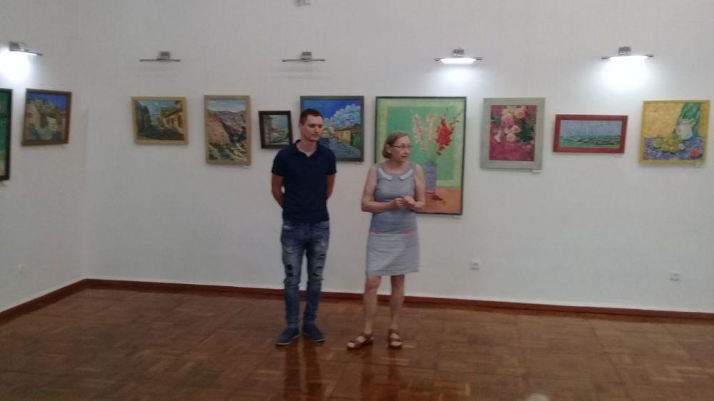 Открылась выставка живописи крымского художника Ивана Балясникова