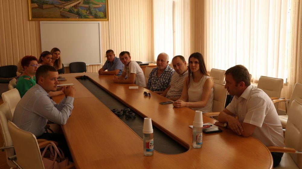 Наталия Сологуб провела рабочую встречу с коллективом ГАУ РК «УООПТ РК»
