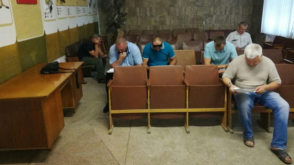 В Минприроды Крыма состоялась проверка знаний кандидатов в производственные охотничьи инспектора