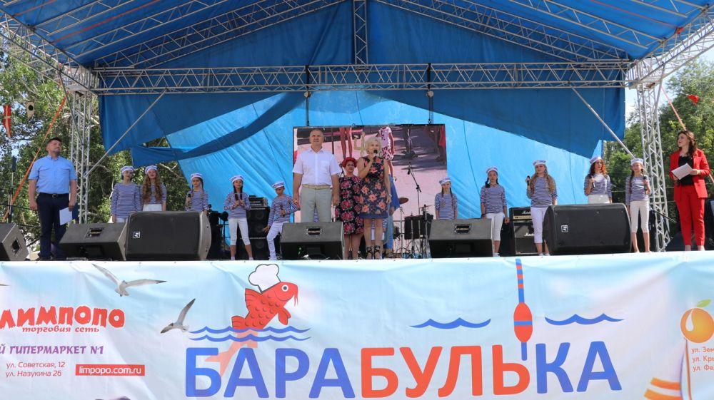 В Феодосии состоялось открытие гастрономического фестиваля «Барабулька»