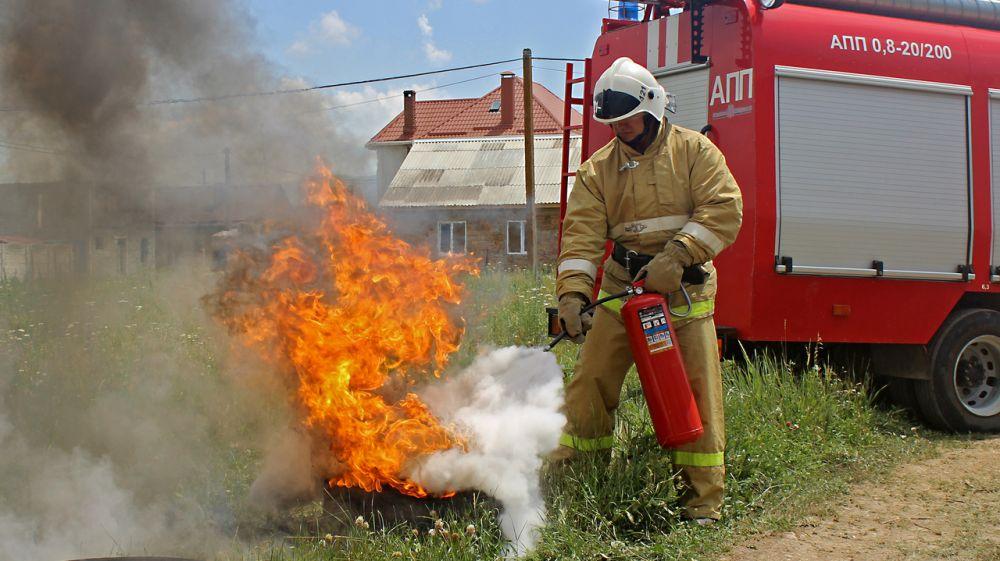 Умение пользоваться огнетушителем – залог вашей безопасности!