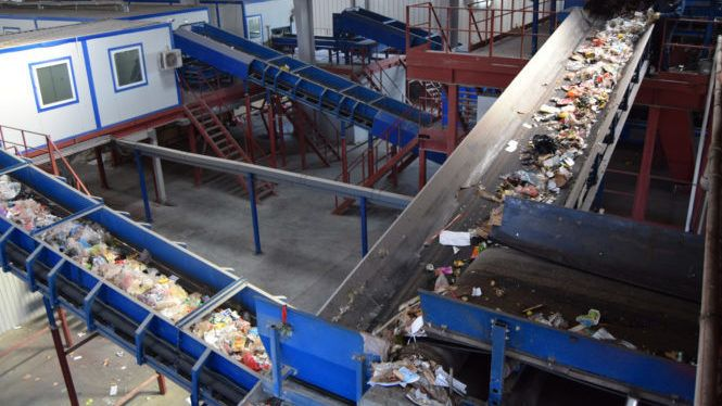 В Каменке не будет работать мусоросортировочный завод