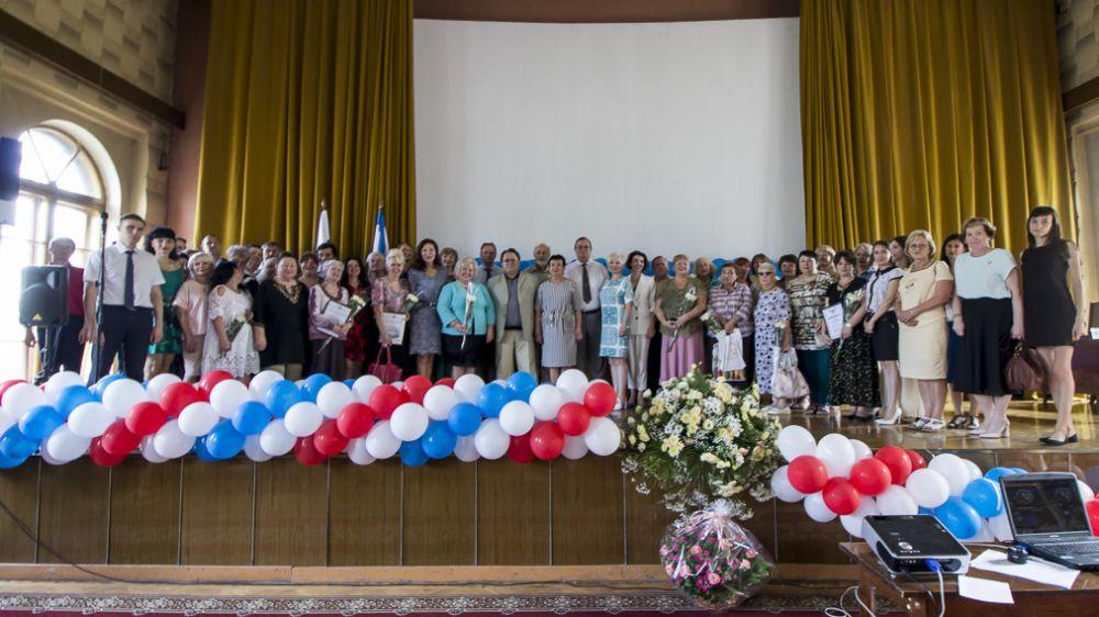 В Симферополе состоялось торжественное собрание, посвященное 100-летию государственной архивной службы Крыма