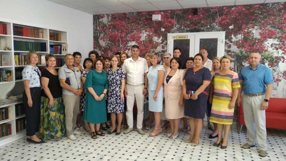 Состоялась рабочая встреча с руководителем благотворительного фонда помощи пожилым людям и инвалидам «Старость в радость»