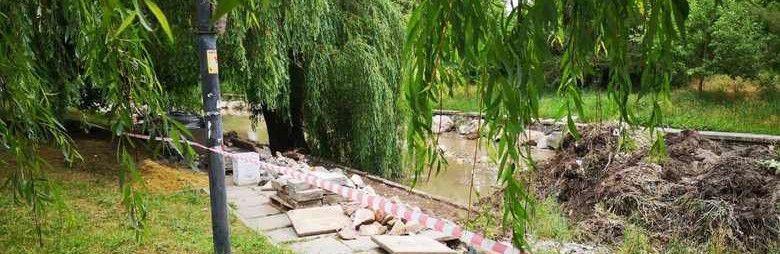 Снятую с набережной Салгира плитку нашли в одном из дворов Симферополя