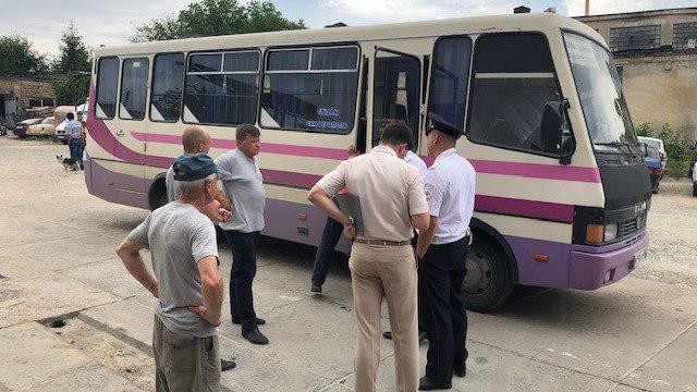 Минтранс отстранил автобус «Симферополь-Севастополь» от перевозки пассажиров до устранения выявленных нарушений