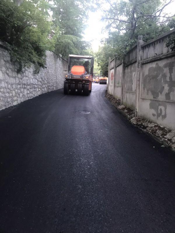 В Ялтинском регионе активно «чинят» дороги
