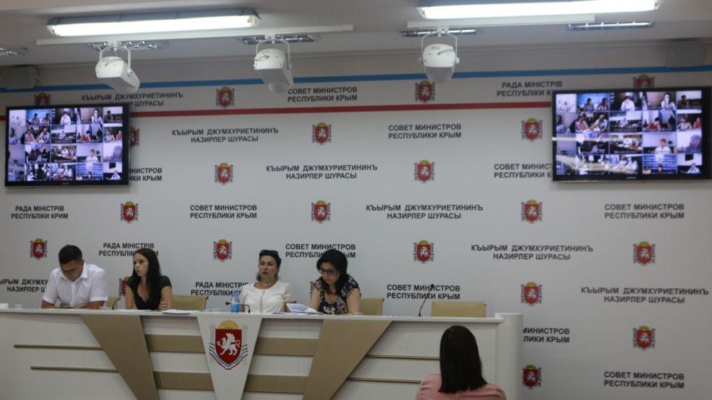 Арина Новосельская провела рабочее совещание с муниципальными образованиями Республики Крым