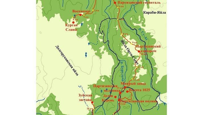 21 июня состоится открытие Эколого-патриотического маршрута «Партизанскими тропами северного соединения»