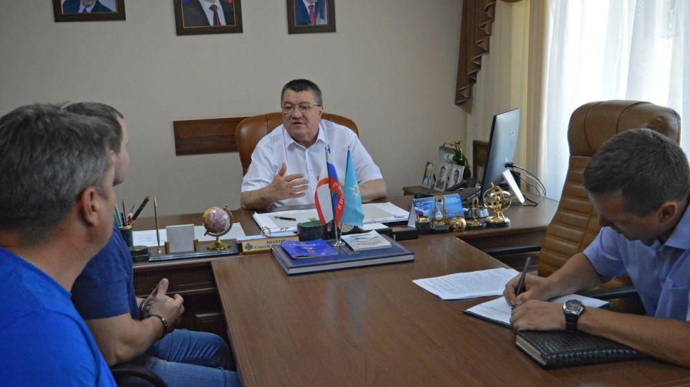 В Министерстве чрезвычайных ситуаций Республики Крым состоялся прием граждан