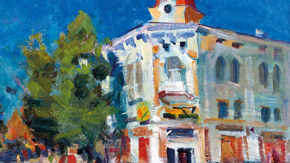 В Симферопольском художественном музее состоится открытие персональной выставки крымского художника Александра Юрьева