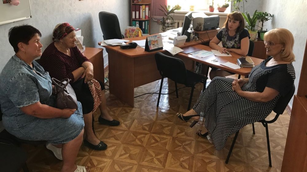Светлана Брижанкина провела личный приём граждан