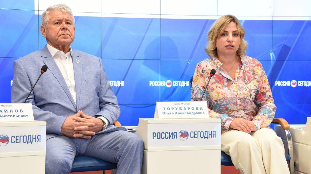 Пресс-конференция, приуроченная к Международному олимпийскому дню, прошла в Симферополе