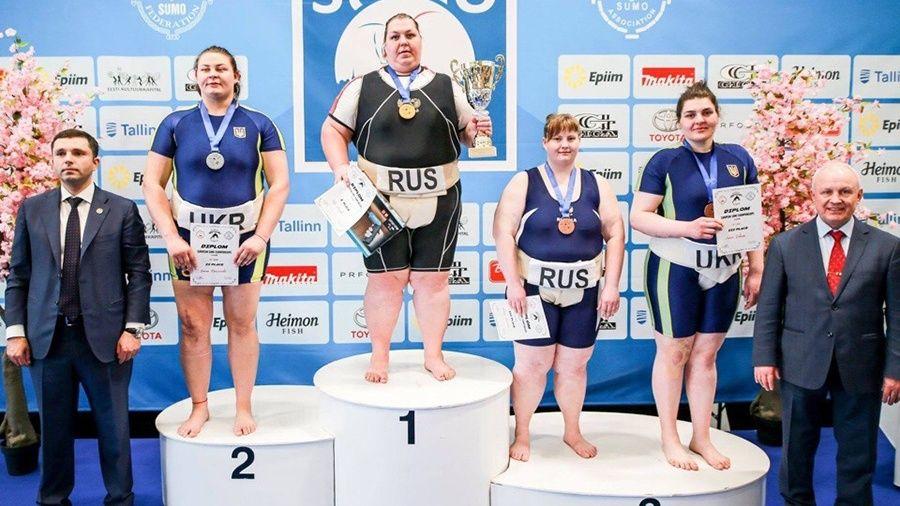 Ольга Давыдко из Черноморского района помогла сборной России по сумо победить в матчевой встрече японцев