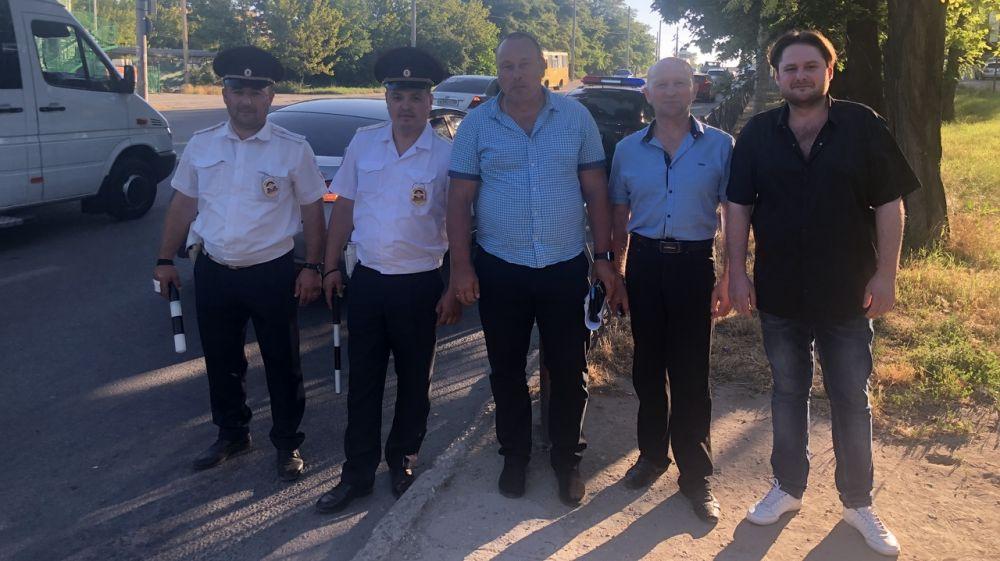 Минтранс проверил легковое такси на ул. Героев Сталингарада и автобусный маршрут «Дубки – Симферополь»