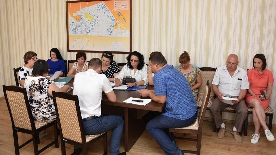 В Администрации города Красноперекопска состоялось внеочередное заседание коллегии