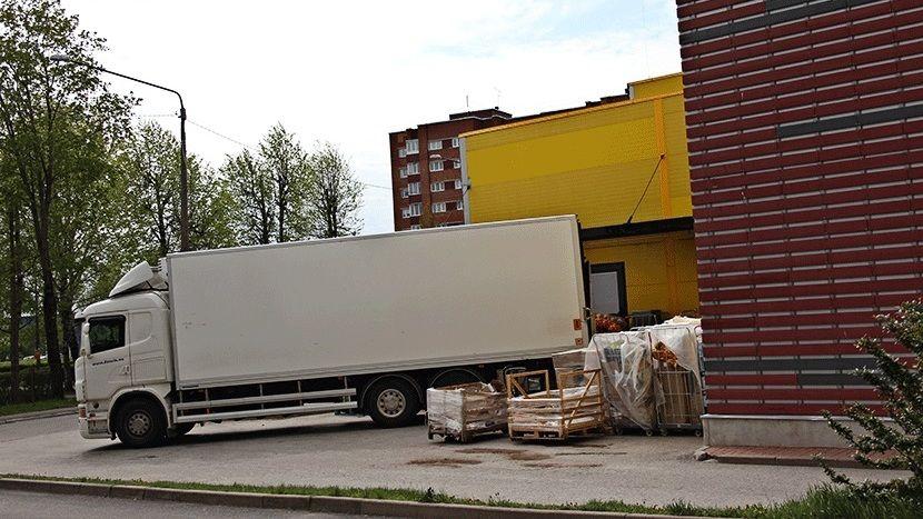 В Ялте ограничат завоз товаров в дневное время