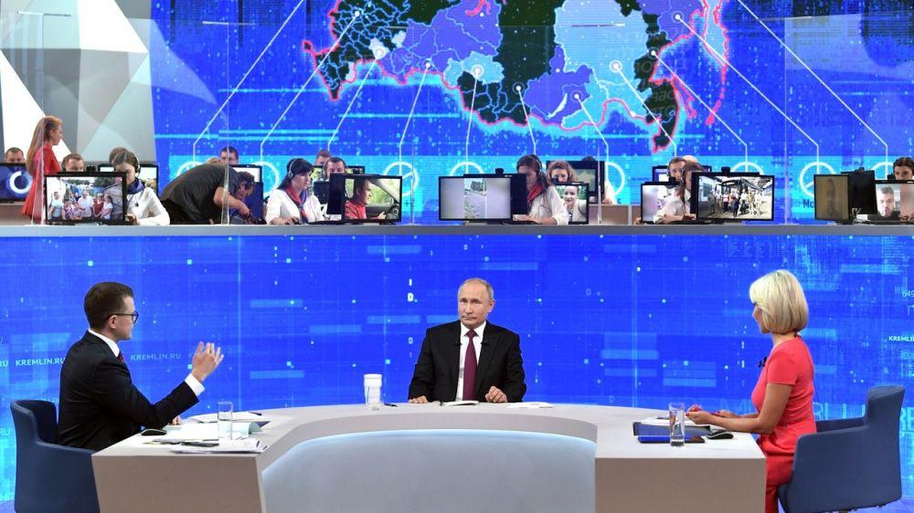 Сергей Аксёнов: «Прямая линия с Владимиром Путиным» - это кратчайшее расстояние между народом и властью, пример для руководителей всех уровней