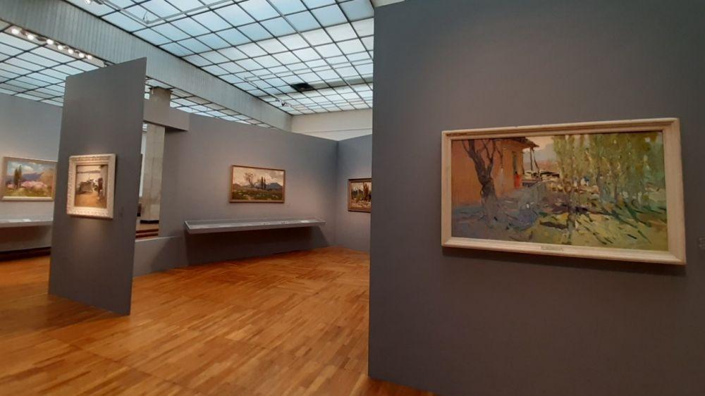 Картины из собрания Симферопольского художественного музея представлены на выставке в Третьяковской галерее