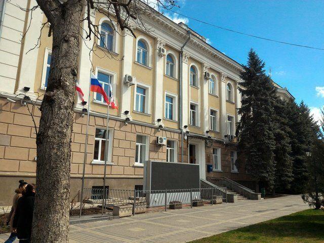Администрация Симферополя выехала из здания на улице Горького