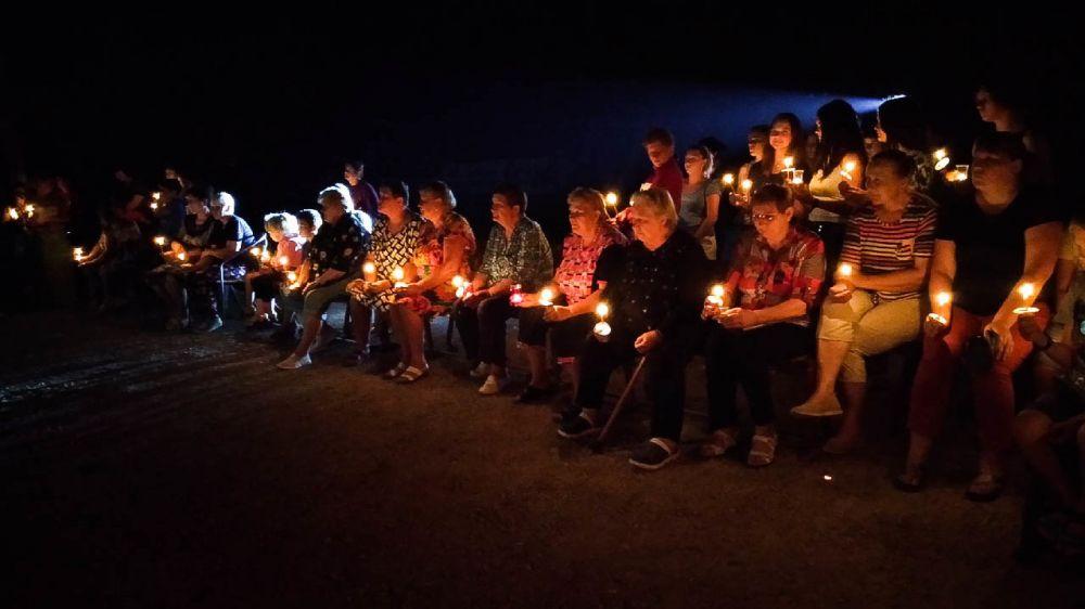 Не гаснет памяти свеча…