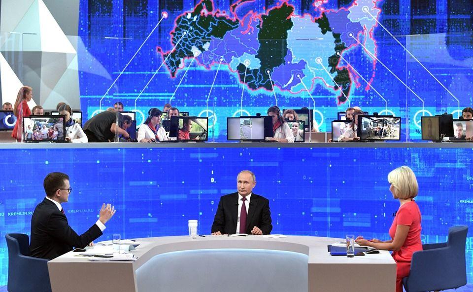 Сергей Аксенов подвел итоги «Прямой линии» с президентом