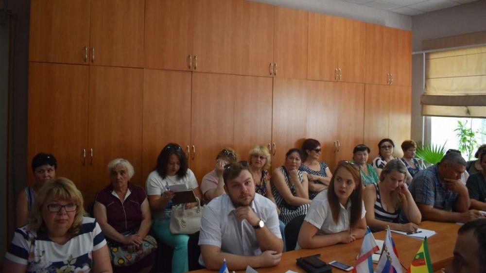 Специалисты отдела ветеринарии города Евпатория приняли участие во встрече – совещании «Час предпринимательства»