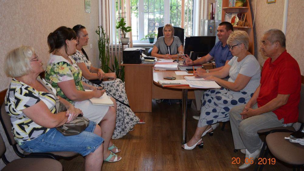 В администрации города Джанкоя состоялось заседание комиссии по вопросам оказания материальной помощи гражданам, находящимся в трудной жизненной ситуации
