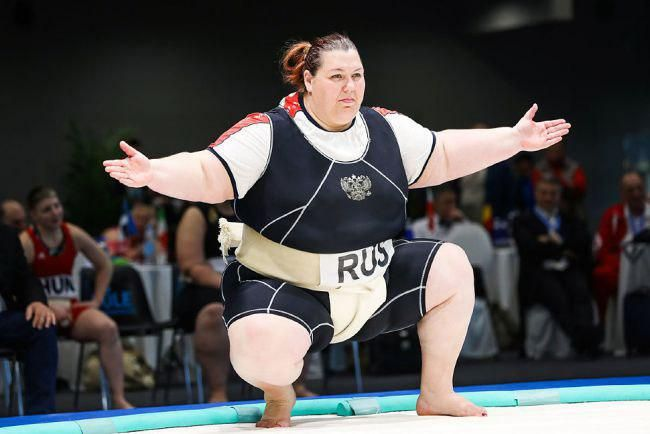 Крымчанка Ольга Давыдко помогла сборной России по сумо победить японцев