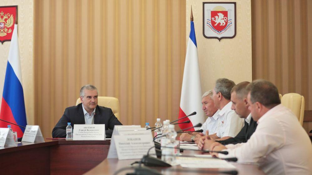Правительство Крыма готово оказать максимальную поддержку и содействие деятельности организации «Герои Отечества», — Аксёнов