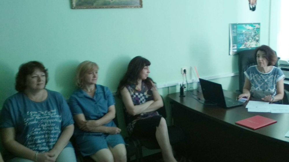 Ольга Мусияченко провела совещание с трудовым коллективом Госархива по личному составу