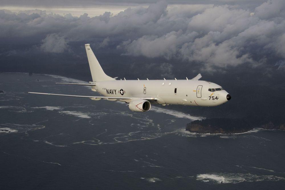 Самолет США опять проводил разведку у крымских берегов