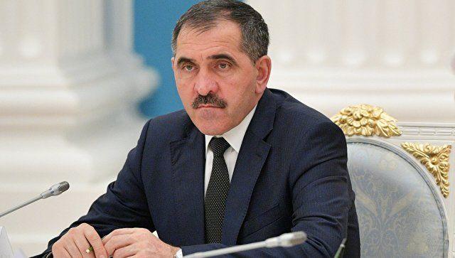 Глава Ингушетии генерал Евкуров подал в отставку
