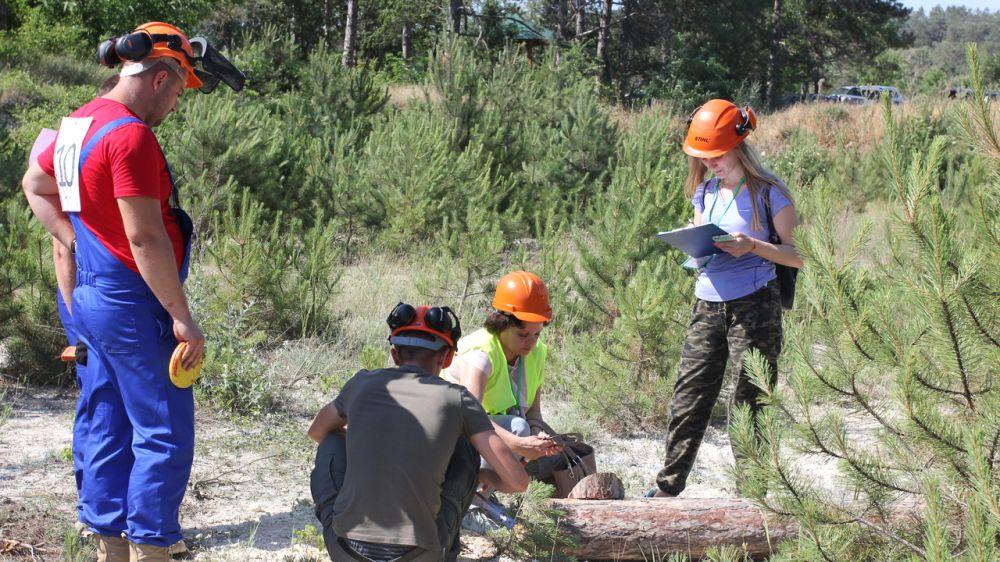 Состоялся Республиканский чемпионат среди вальщиков леса «Лесоруб-2019»с