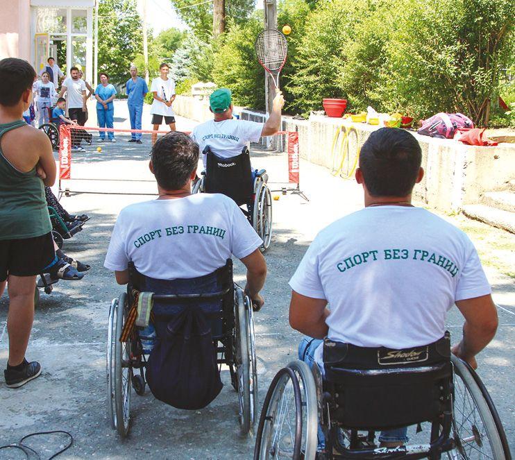 В Симферополе прошла акция «Спорт без границ»