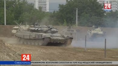 В Севастополе прошла генеральная репетиция военно-технического форума «Армия-2019»