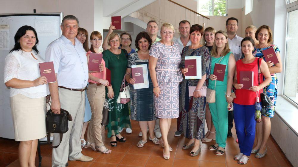 Сотрудники крымского Минфина достойно прошли переподготовку по программе дополнительного профессионального образования – Ирина Кивико