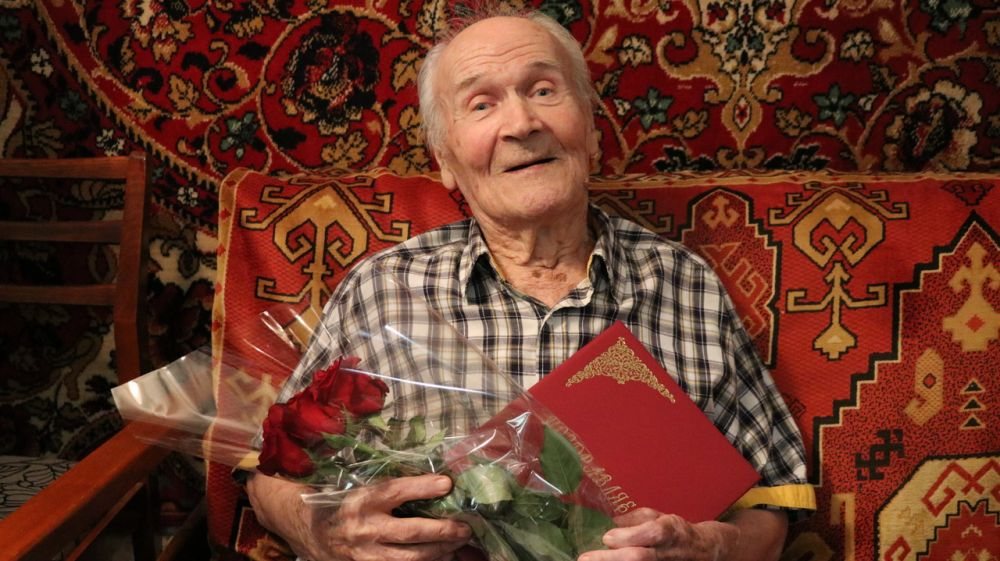 Ветеран Великой Отечественной войны Владимир Заблоцкий отметил 95-й день рождения
