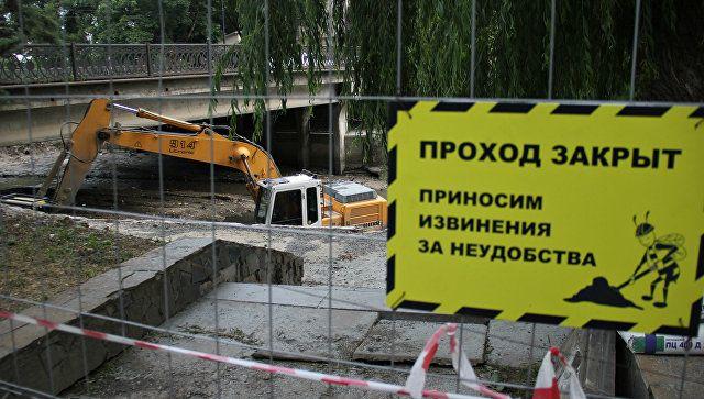 Саперы ликвидировали снаряд, найденный на набережной в крымской столице