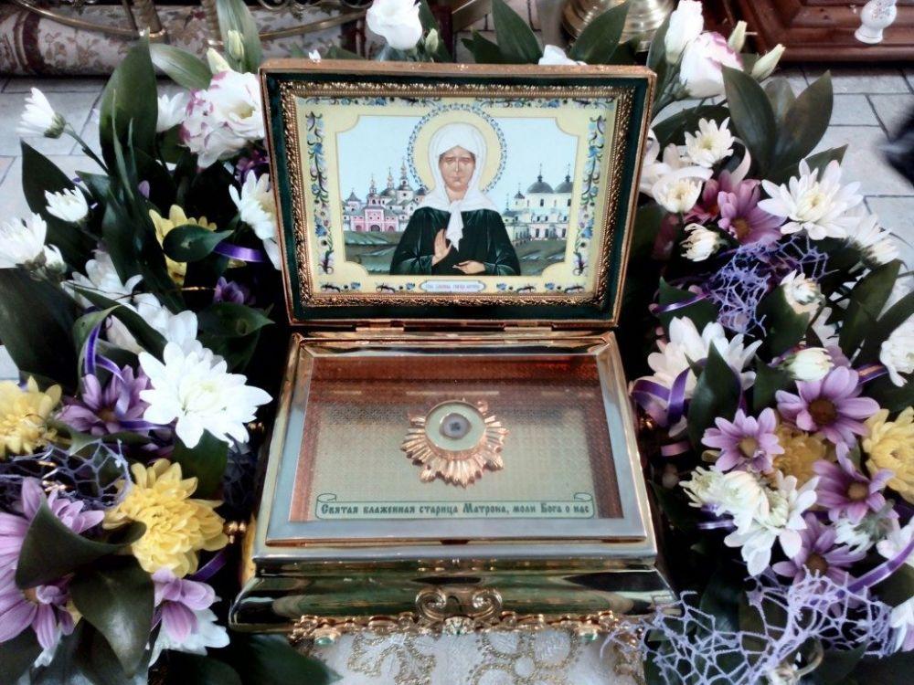 В Евпаторию прибудут мощи святой блаженной Матроны Московской