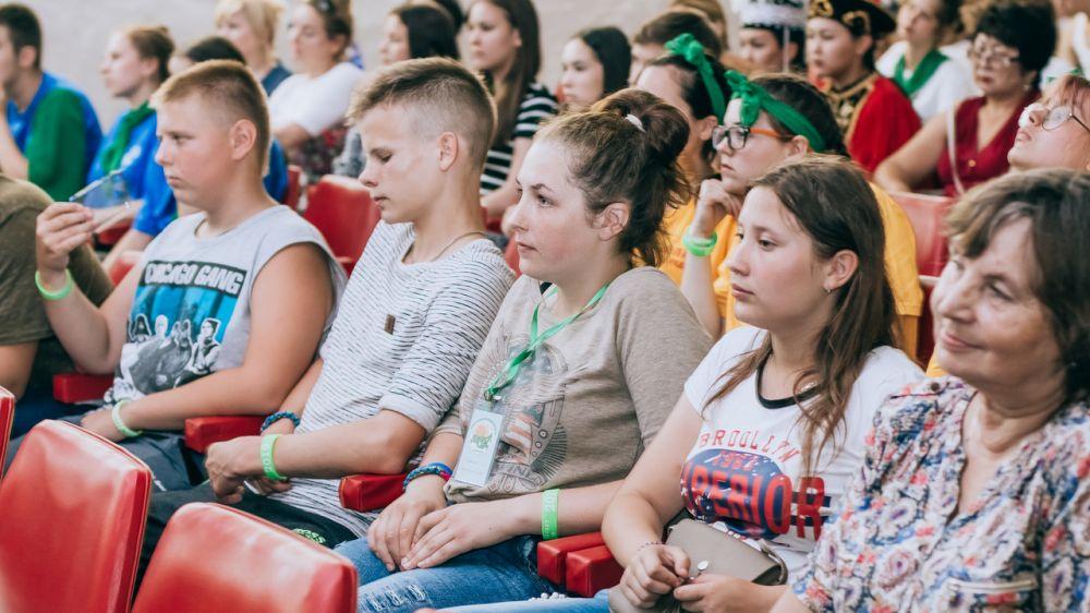 В рамках Межрегионального слёта юных экологов - 2019 состоялись экологические мастер-классы и музыкальное творческое представление
