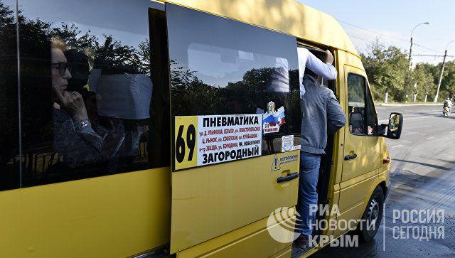 В Крыму могут отменить повышение цен на проезд в маршрутках