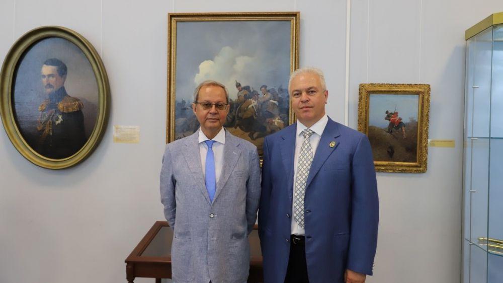 В Воронцовском дворце-музее открылась выставка «Суворовы и Воронцовы»