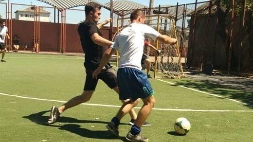 В преддверии Дня молодежи состоялся товарищеский футбольный матч в рамках Всероссийского проекта «Доверяй, играя!»