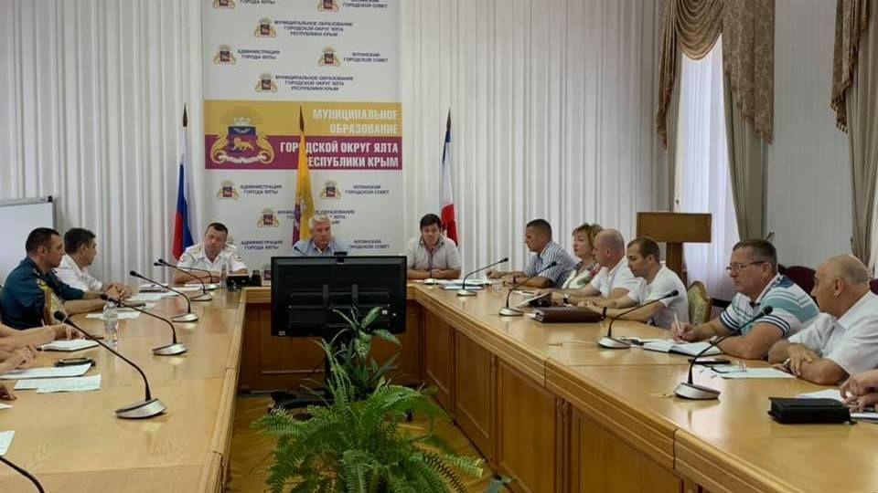 В Ялте прошло заседание комиссии по безопасности дорожного движения